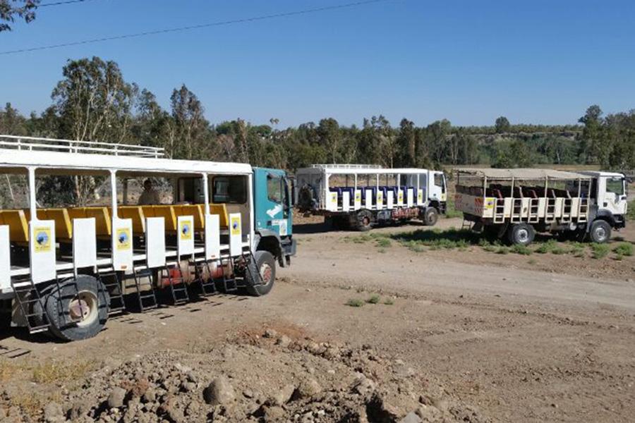 רכב ספארי - טיולי שטח לקבוצות - 30 עד 45 איש